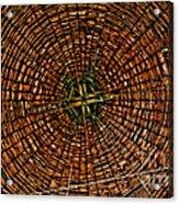 Largest Round Barn Ceiling Acrylic Print