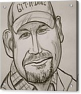 Larry The Cable Guy Acrylic Print