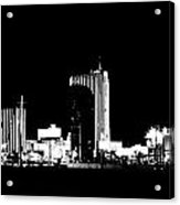 Las Vegas Nights Acrylic Print