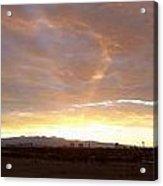Las Vegas Sunset Acrylic Print