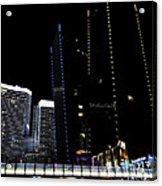 Las Vegas Walkway Acrylic Print