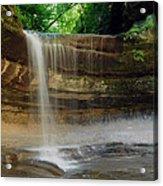 Lasalle Canyon Waterfall Acrylic Print