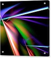 Laser Light Show Acrylic Print