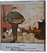 L'assassinat Du Duc De Guise Acrylic Print