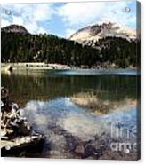 Lassen Mountain Lakes Acrylic Print