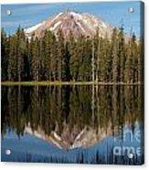 Lassen Peak Reflections Acrylic Print