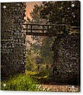 Last Bridge To Minas Tirith  Acrylic Print