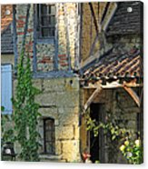 Last Light In Sarlat Acrylic Print