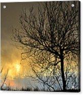 Last Light In The Storm Acrylic Print