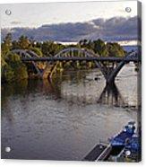 Last Light On Caveman Bridge Acrylic Print