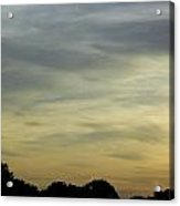 Last Lights Of The Day  Acrylic Print