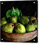 Last Of The Pears Acrylic Print