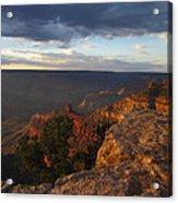 Last Rays At Grand Canyon Acrylic Print