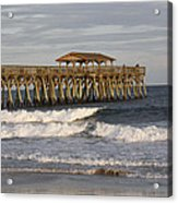 Late Afternoon At The Pier Acrylic Print