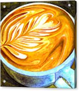Latte Acrylic Print