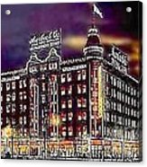 Lauerbach's Department Store In Salt Lake City Ut In 1910 Acrylic Print