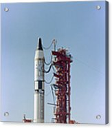 Launch View Of The Gemini-titan 3 Acrylic Print