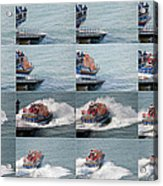 Launching The Lifeboat Acrylic Print