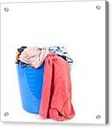 Laundry Acrylic Print