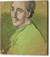 Laurence Eusden, English Poet Laureate Acrylic Print