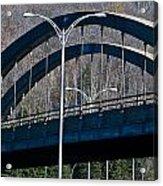 Laurentian Bridge Acrylic Print