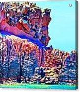 Lava Island Acrylic Print
