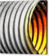 Lava Tube Acrylic Print