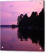 Lavender Lake Acrylic Print