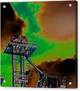 Law Tower Acrylic Print by Cyryn Fyrcyd