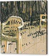 Lawn Chairs Acrylic Print