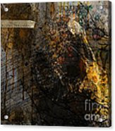 Layered Realities Abstract Composition Painting Print Acrylic Print