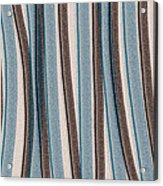 Lazy Stripes Acrylic Print by Bonnie Bruno
