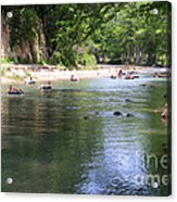 Lazy Summer Days Acrylic Print