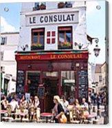 Le Consulat Cafe  Acrylic Print