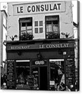 Le Consulat Acrylic Print