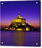 Le Mont Saint-michel, Normandy, France Acrylic Print