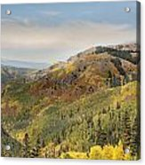 Lead King Basin Road 2 Acrylic Print