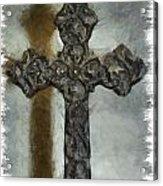 Lead Me To The Cross 1 Acrylic Print