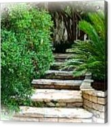 Lead Me To Your Garden Acrylic Print