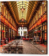 Leadenhall Market Interior Acrylic Print