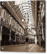 Leadenhall Market London With  Acrylic Print