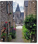 Leading To The Church Provence France Acrylic Print