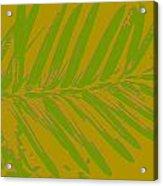 Leafy Art I Acrylic Print