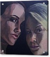 Leah And Tiffany Acrylic Print