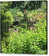 Leaming Run Gardens Pond Acrylic Print