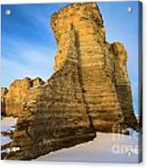 Learn Tower Of Monument Rocks Acrylic Print