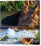 Leasburg Dam New Mexico Acrylic Print
