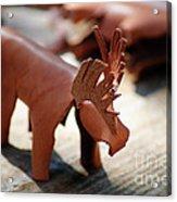 Leather Elk  Acrylic Print