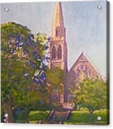 Leckie Memorial  Church  Peebles Scotland Acrylic Print