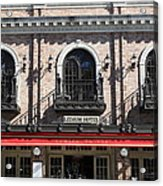 Ledson Hotel - Downtown Sonoma California - 5d19271 Acrylic Print by Wingsdomain Art and Photography